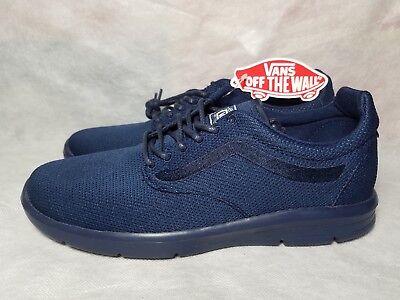 bf4a35f90b New Vans Iso 1.5 Mono Dress Blues Gum Ultra Cush Shoe Men Size 7
