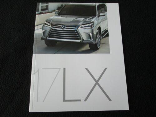 2017 Lexus LX Brochure LX570 &