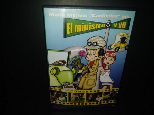 """El Ministro Y Yo Mario Moreno """"Cantinflas"""" en DVD Import Region 1 & 4 B151"""