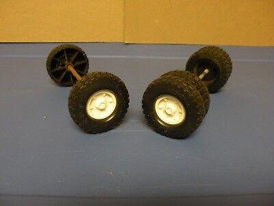Vintage Ertl 1/16 International Loadstar Grain /Livestock Truck Wheels/ Parts