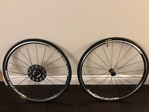 Mavic Aksium wheel set new take off from cannondale
