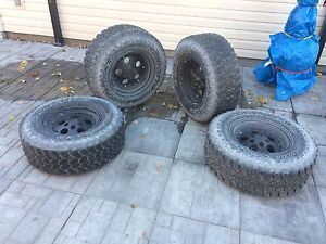 PRICE DROP!!Selling 31' and 28' tires and rims for jeep Belleville Belleville Area image 1
