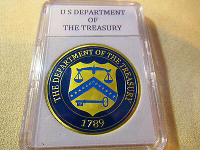 United States Department Of The Treasury Challenge Coin