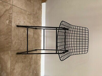 Black Iron Bar Stool 4 by Cox and Cox