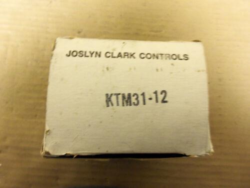 NEW JOSLYN CLARK 3 LINE OVERLOAD RELAY KTM31-12 KYM3112 600V TYPE TM