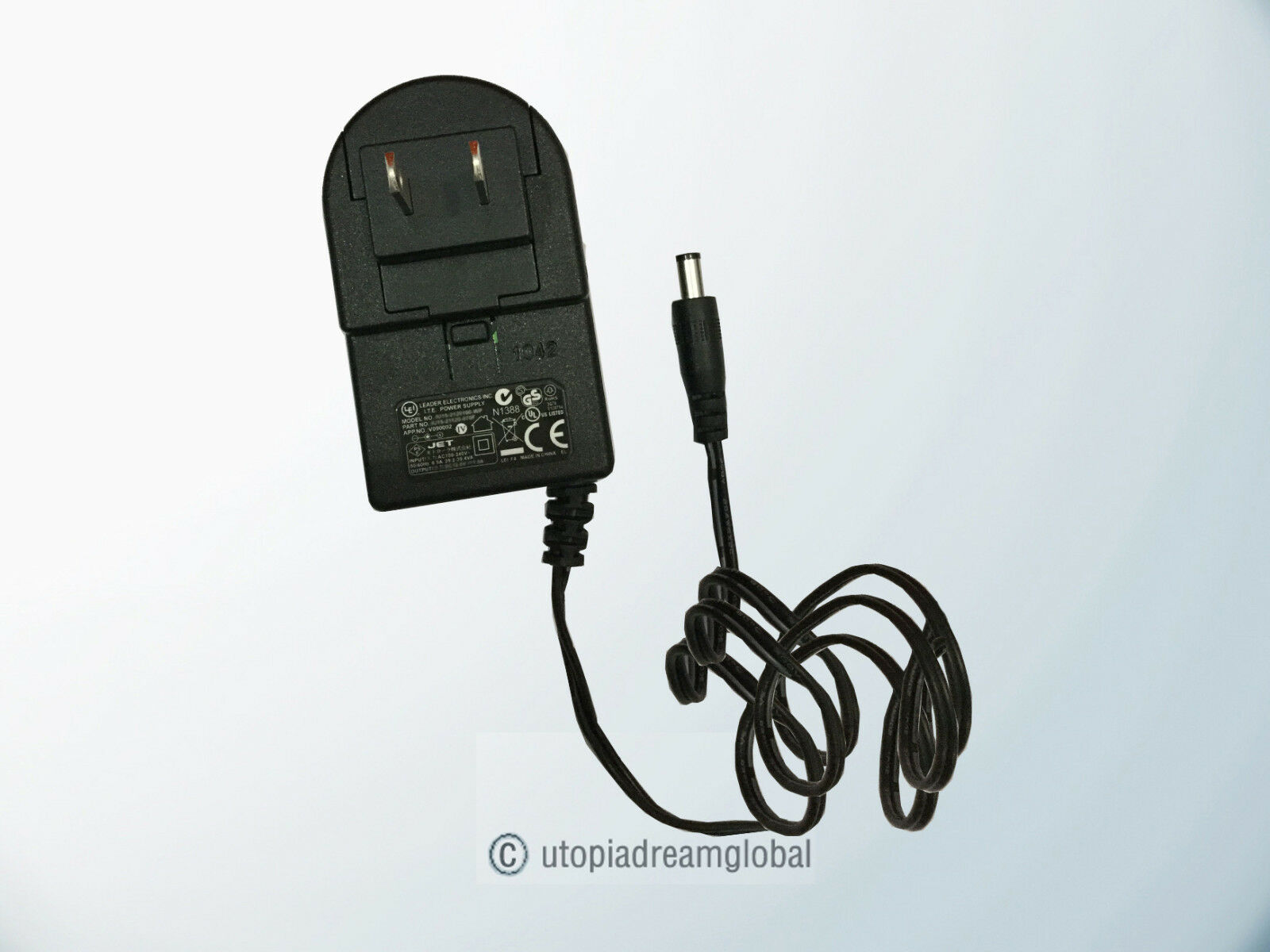 UL Listed AC Adapter for for Asus RT-ACRH13 RT-AC1200 Wireless Router 12V 2A