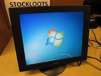 "Sony SDM-S71R 17"" LCD Monitor 1280 x 1024 500:1 75Hz 16 ms 5:4 Black VGA"