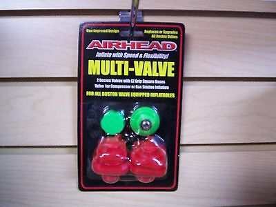 Airhead Multi-Valve, Replaces or Upgrades all Boston Valves for Inflatables