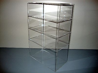 305displays Acrylic Countertop 12 X 7 X 19 Display Case Showcase Box Cabinet