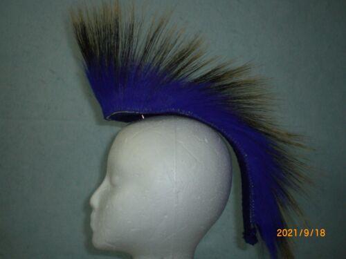 Porcupine Roach, Royal Blue, 12 inch out, Royal Blue Yarn Base