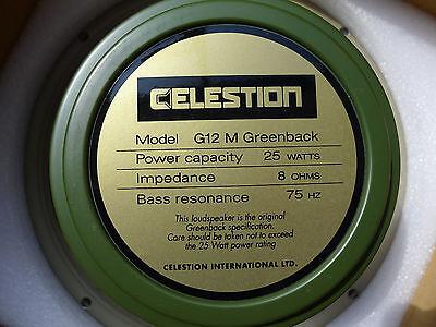 4pcs neue Celestion G12M Greenback 12 Guitar Speaker 8 ohm 25 Watts