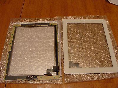 White Screen Glass Digitizer Apple Ipad 2 Pre-taped W/hom...