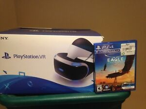 PlayStation vr headset camera and game included