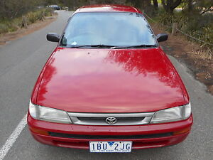 1999 Toyota Corolla Hatchback REG AND ROADWORTHY!! Moorabbin Kingston Area Preview