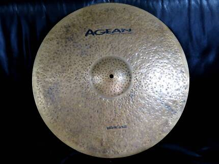"""Agean 20"""" Ride Cymbal - Natural Series, hand crafted"""