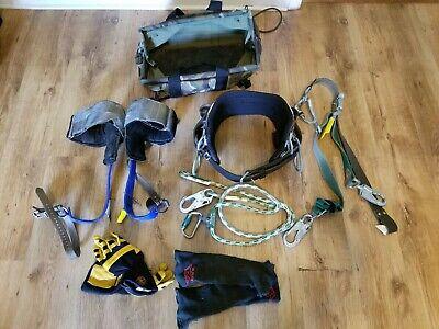 Lineman Pole Climbing Gear Buckingham Bucksqueeze Gaffclimbers Belt Strap Bag