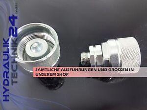 Hydraulik-Schraubkupplung Stecker BG 3 15L