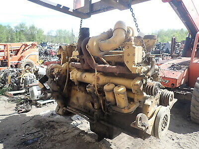 Caterpillar D353 Turbo Diesel Engine D9g Bulldozer Crawler Tractor D9h D9g Cat