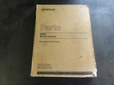 Caterpillar Cat 950e Wheel Loader Parts Manual  Sebp1757-01