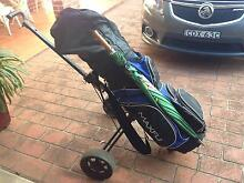Set of Golf Clubs with Bag buggy VB umbrella tees balls & Markers Currans Hill Camden Area Preview