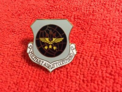 US AIR FORCE MILITARY AIRLIFT COMMAND HAT PIN