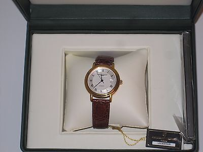 Rare,  Frederique Constant Solid Gold Watch. Super nice!  Worn once.   Mint!