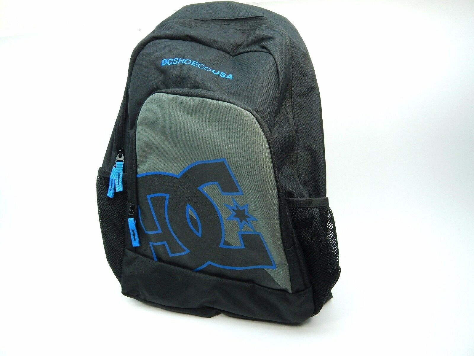 4c394e484dfe DC shoes Backpack New kid style 9153040801 black blue grey фото