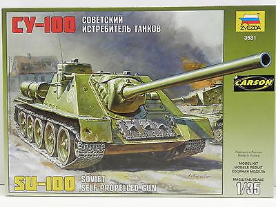 ZVEZDA 3531 Bausatz Sowjetischer KPz SU-100 M.1:35