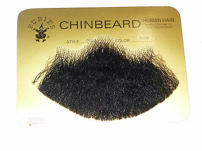 Human Hair Goatee Costume Chin Beard Van Dyke Beard Beatnik Beard 60s  2022 (Costume Beards)