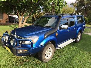 Ford Ranger 2010 PK XLT Dual cab 4X4 3.0lt Turbo Diesel 5sp man Cudal Cabonne Area Preview