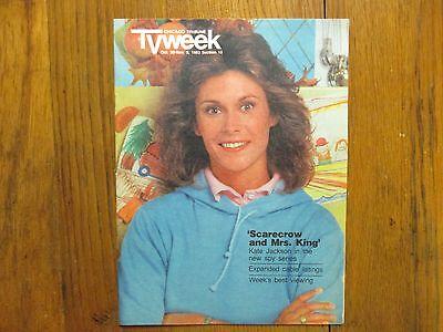Oct 1983 Chicago Tribune Tv Week Maga Kate Jackson Charlies Angels Brian Keith