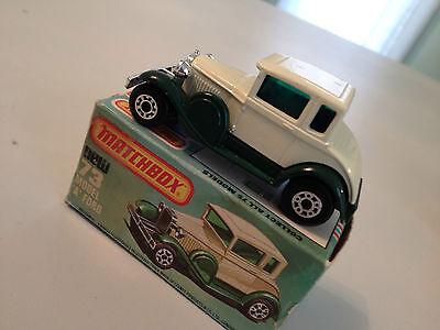 1979 Matchbox Model A Ford No 73 w/original box - Made in England