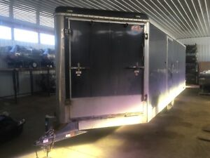 2009 Enclosed Heated Trailer