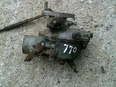 Oliver 770 77 Rowcrop Row Crop Tractor Engine Motor Carburetor