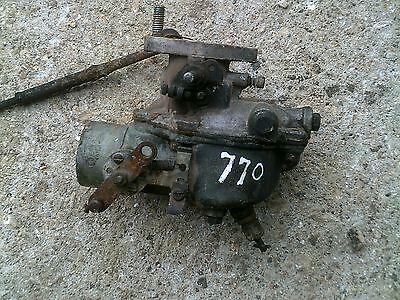 Oliver 770 77 Rowcrop Row Crop Tractor Engine Motor Carburetor 5 92 14991a