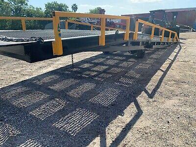 Used Forklift Ramp Yard Ramp Yard Dock 24000lb Extra Wide 90