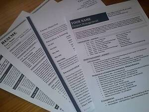 Resumes in Perth - BEST QUALITY RESUME WRITING SERVICE Mount Lawley Stirling Area Preview