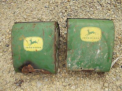 John Deere Corn Planter Good Original Jd Fertilizer Box Boxes W Lid