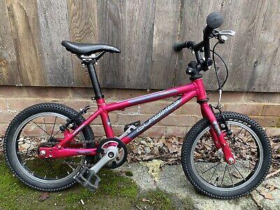 Islabikes Cnoc 14 (Pink/purple) - great kids first bike