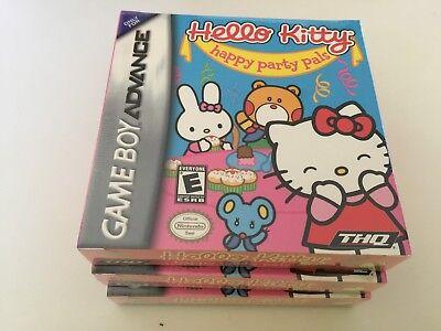 Hello Kitty: Happy Party Pals (Nintendo Game Boy Advance, 2005) GBA NEW! Hello Kitty Pal