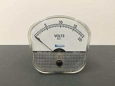 Weston Model 1721 Dc Volt Meter 0-20 Volts New