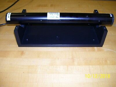 Yellow Jds Hene Laser System Model 1677 With Jds Supply 1.0 Mw Maximum Eye Safe