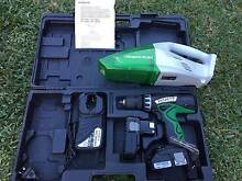 Hitachi 18V Cordless Tools - Drill & Hand Vacuum Pack Salisbury Brisbane South West Preview