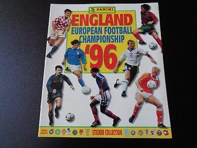 ALBUM FIGURINE PANINI ENGLAND EUROPEAN FOOTBALL CHAMPIONSHIP 96 VUOTO OTTIMO