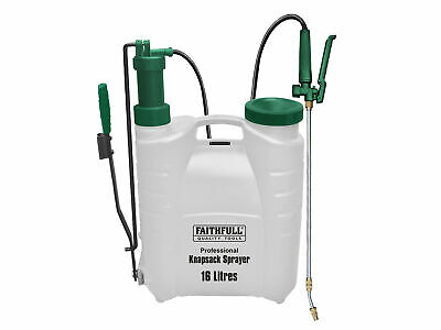 Faithfull Professional Knapsack Sprayer with Viton� Seals 16L