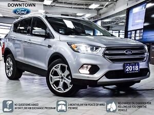 2018 Ford Escape Titanium | NAV | PANO ROOF | PWR LIFTGATE