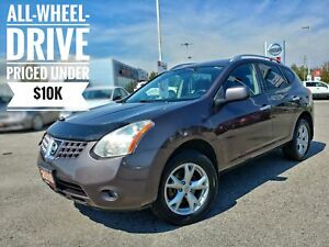 2010 Nissan Rogue SL Sunroof Heated Seats  FREE Delivery