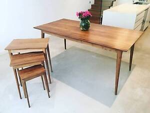 Dining Table - Scandinavian Danish Design / Vintage + Side Tables Leichhardt Leichhardt Area Preview