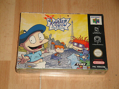RUGRATS IN PARIS THE MOVIE BY THQ FOR NINTENDO 64 N64 NEW FACTORY SEALED