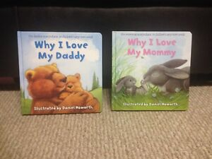 Why I Love Daddy/Mommy board books